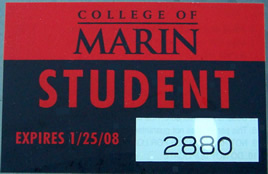 semester parking sticker